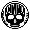 【カッティングステッカー NO MUSIC NO LIFE ver.011 スカル ミニサイズ 3枚組 幅約11cm×高約11cm】ノーミュージックノーライフ ハンド..