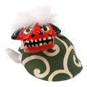 首振り・獅子頭(小)【リュウコドウ】【獅子舞】【国産・日本製】【正月飾り】【迎春】