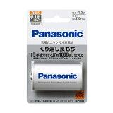Panasonic ニッケル水素電池 単1形 高容量Min.5700 mAh BK-1MGC/1 [ BK1MGC1 / 充電池 / 充電電池/パナソニック/単一]【RCP】