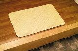 籐 本手織りあじろ編みマット 70×120夏の玄関に涼感と高級感を! AJRM70 籐マット70×120cm滑り止め加工カーペットラグ敷物特別価格シンプル自然素材天然素材玄関マット