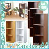 【楽天ランキング獲得!】カラーボックスシリーズ【kara-bacoA4】3段A4サイズ3個セットカラーボックス/3段3個セット/A4サイズ/収納