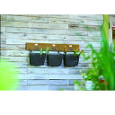 エクステリア・ガーデンファニチャー ガーデンオーナメント・置物 ウォールバスケット80570 収納 壁掛け 壁 ガーデン 庭 ガーデニング ボックス ポケット 吊るし収納 バスケット