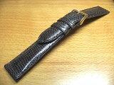 18mm時計バンド(腕時計)ベルト18ミリ リザード(トカゲ) 時計ベルト・バンド バネ棒サービス 18ミリ チョコ 腕時計用 時計ベルト 時計用バンド 525で販売していますバネ