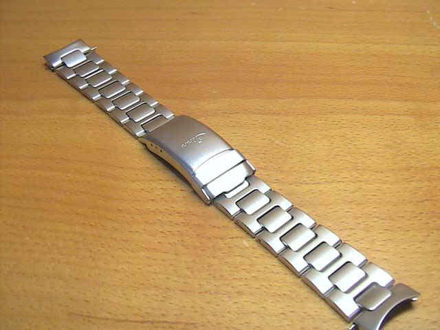 【SINN】 ジン 腕時計 ブレスレット  256,356,556はサテン仕上げ,656,EZM2,EZM3用, (20mm) 純正 ステンレススチール 時計バンド 時計ベルト フード付きブレスレット SSマット 【smtb-TK】