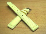 14mm時計バンド(腕時計)ベルト14ミリ ズッコロ 布 キャンバス 【ジーンズ】 時計ベルト・バンド バネ棒サービス 14ミリ 黄色 腕時計用 時計ベルト 時計用バンド 525で