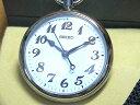 セイコー腕時計( SEIKO )時計 セイコー 鉄道時計 懐中時計 ポケットウォッチ オープンフェイス 電池式(クォーツ) SVBR003