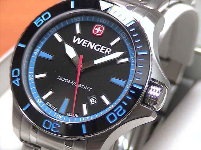 ウェンガー 腕時計 シーフォース 01.0641.106 この値段で本格的ダイバーズが買える!安心のメーカー保証3年付き日本正規商品です。