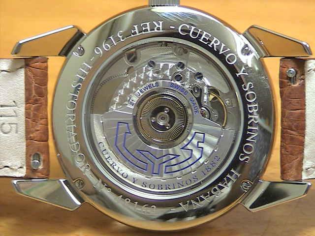 クエルボイソブリノス 腕時計 トルピード ヒストリアドール GMT 正規商品 Ref.3196-1C 【クエルボ・イ・ソブリノス】 クエルボイソブリノスはメーカー保証2年付の正規代理店商品になります。