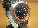 グライシン 腕時計 GLYCINE エアマン SST 12 ブラックダイアル レザーストラップ 39...