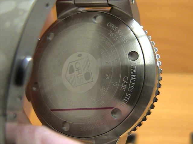 オリス 腕時計 ORIS Aquis Depth Gauge アクイス デプスゲージ 腕時計 73376754154M 【正規輸入品】 優美堂のORIS オリス腕時計はメーカー保証2年の正規商品です