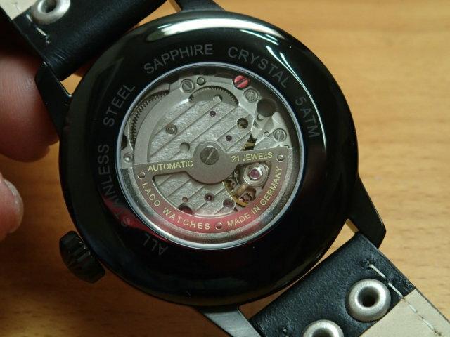 ラコ 腕時計 Laco パイロットウォッチ 861760 Bielefeld ビーレフェルト 42MM 自動巻 優美堂のLaco ラコ腕時計はメーカー保証2年つきの正規販売店商品です。