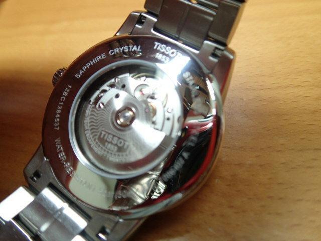 ティソ 腕時計 TISSOT Luxury Automatic (ラグジュアリーオートマチック) POWERMATIC80 パワーマティック80 T0864071105100 メンズ 正規輸入品 優美堂のTISSOT ティソは2年保証のついた正規代理店商品です