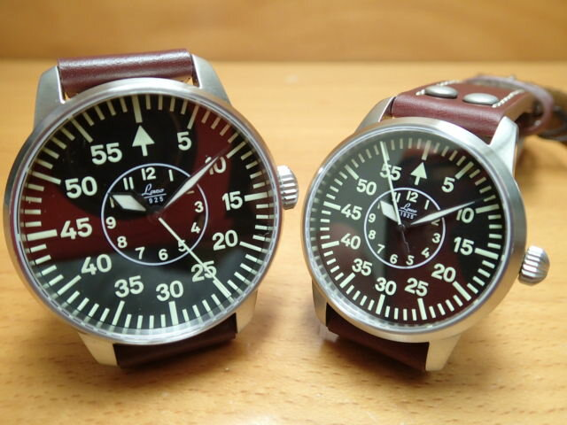 ラコ 腕時計 Laco ペア腕時計 パイロット 21 自動巻き ペアウォッチ メンズ 861690 レディース 861799優美堂のLaco ラコ腕時計はメーカー保証2年つきの正規販売店商品です。