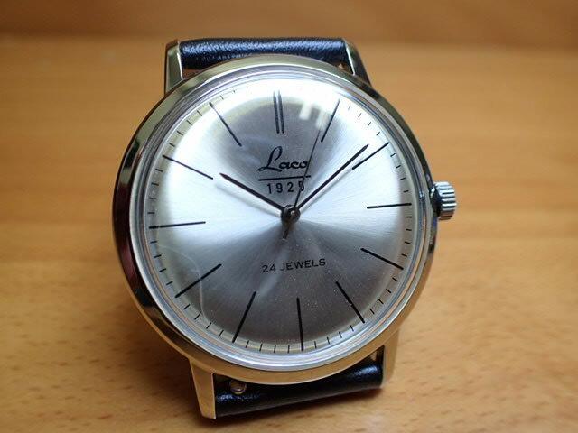 ラコ 腕時計 Laco ヴィンテージウォッチ 861781 38MM SINN 腕時計 自動巻:e-優美堂店 優美堂のLaco I.T.A 腕時計 ラコ腕時計はメーカー保証2年つきの正規販売店商品です。