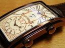 クエルボイソブリノス 腕時計 プロミネンテ デュアルタイム デイデイト 正規商品 希少 8本の世界限定品 Ref.1124-2GC 優美堂 オリジナル B00P68G082