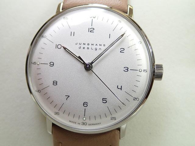 ユンハンス マックスビル バイユンハンス 腕時計 MAX BILL BY JUNGHANS Hand Wind 34mm マックスビル 手巻き式 027 3701 00 正規商品 JUNGHANS ユンハンス 腕時計はメーカー保証2年付の正規代理店商品になります。