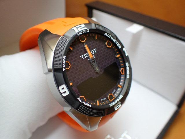 ティソ 腕時計 TISSOT T-タッチ エキスパート ソーラー T-TOUCH EXPERT Solar T091.420.47.051.01【正規代理店商品】 優美堂のTISSOT ティソは2年保証のついた正規代理店商品です