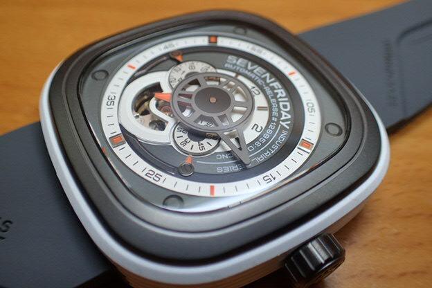SEVENFRIDAY セブンフライデー 腕時計 インダストリアルエンジン 正規輸入商品 Ref.P3-3 セブンフライデーはメーカー保証2年付の正規代理店商品になります。