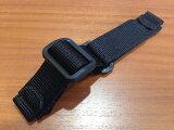 【WENGER】【ウェンガー 時計ベルト】【ウェンガー 時計バンド】【優美堂】20mm ブラック ナイロン WENGER・ウェンガー ナイロン 時計バンド 時計ベルト・ 20mm・ブラック・正規代理店商品です。  全国送料180円のメール便がご利用いただけます。