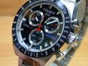 ティソ 腕時計 TISSOT PRS516 クロノグラフ クォーツ T044.417.21.041.00 【文字盤カラー ブルー】 【正規輸入品】