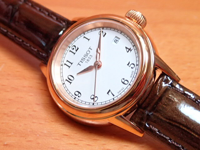ティソ 腕時計 TISSOT CARSON カーソン レディース クォーツ 腕時計 T085.210.36.012.00 【正規輸入品】 優美堂のTISSOT ティソ 腕時計は2年保証のついた正規代理店商品です