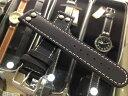 ラコ 腕時計 Laco 時計バンド ベルト 20mm 黒色 ブラック ラコ以外の時計でも付けてほしい 全国送料180円のメール便がご利用いただけま..
