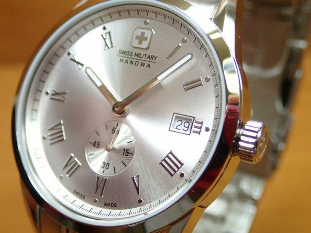 スイスミリタリー 腕時計 ROMAN ローマン ML345 メンズ 【_包装】【_のし】【_のし宛書】【_メッセ】【_メッセ入力】【_名入れ】 優美堂のスイスミリタリー腕時計はメーカー保証付き正規品です。