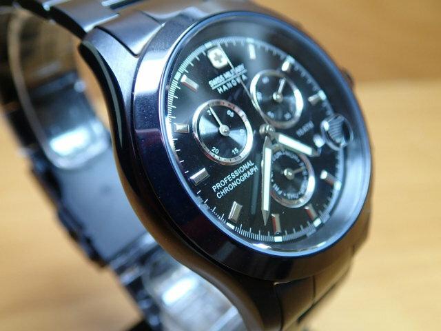 スイスミリタリー 腕時計 エレガント・クロノ ML247 メンズ 【_包装】【_のし】【_のし宛書】【_メッセ】【_メッセ入力】【_名入れ】 優美堂のスイスミリタリー腕時計はメーカー保証付き正規品です。