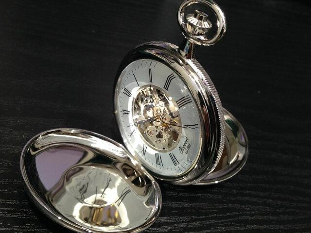 Rapport ラポート 懐中時計 ポケットウォッチ 両開き手巻き式 スケルトン PW97 正規輸入品 1898年イギリスのロンドンに誕生した老舗ブランドRapport ラポート ポケットウォッチ 懐中時計です