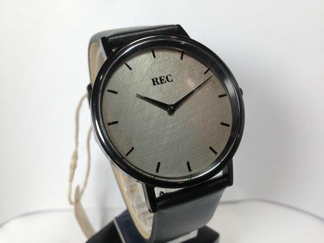 REC WATCHES 40mm メンズ 腕時計 The Minimalist ミニマリスト 本物のMiniの車体文字盤 ML3 優美堂はREC腕時計の正規販売店です