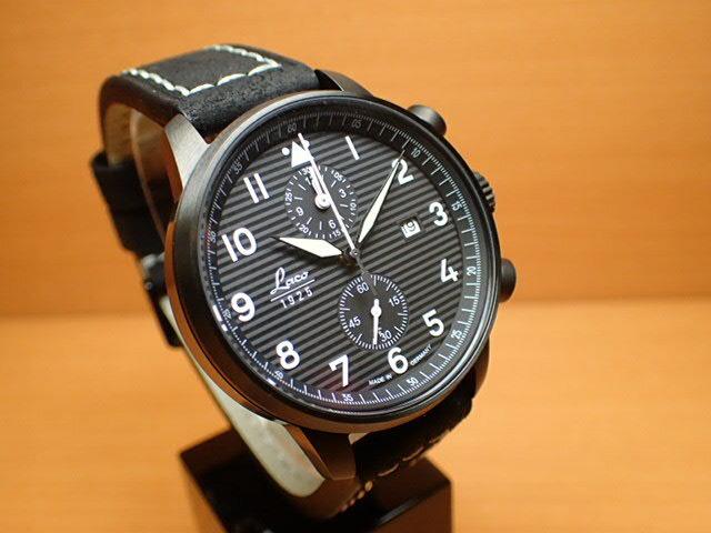ラコ 腕時計 Laco 861975 Lausanne ローザンヌ クォーツ(電池式) 42mm 優美堂のLaco ラコ腕時計はメーカー保証2年つきの正規販売店商品です