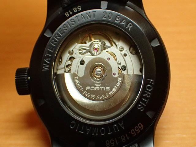 フォルティス 腕時計 FORTIS エアロマスター ステルス Ref.655.18.18 パイロットウォッチの中核を担う存在
