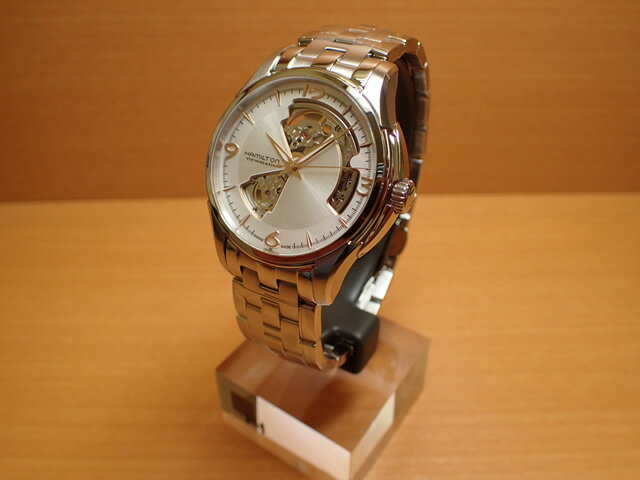 ハミルトン メモリジン 腕時計 HAMILTON 腕時計 TISSOT 名古屋 Jazzmaster ティソ おすすめ Open Heart(ジャズマスターオープンハート) 機械式自動巻き H32565155 メンズ【正規輸入品】:e-優美堂店 優美堂のハミルトン腕時計はメーカー2年保証のついた正規販売店商品です。芸能人の使用多数ある有名時計となりました