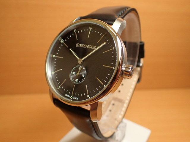 WENGER ウェンガー 腕時計 Urban Classic Petit Second 01.1741.102 復活 e優美堂のウェンガーは安心のメーカー保証3年付き日本正規商品です。