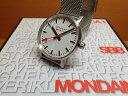 モンディーン 腕時計 エヴォ2 35mm メッシュブレスレット MSE.35110.SM優美堂のモンディーンはメーカー保証つきの正規商品です。