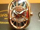 グリモルディ腕時計 G.T.O. 交換用バンドつき 腕時計 メンズ GRIMOLDI Gran Tipo Ovale RGSHBK612PK1962年〜1964年にわずかに製造されたフェラーリ250GTOにオマージュした腕時計