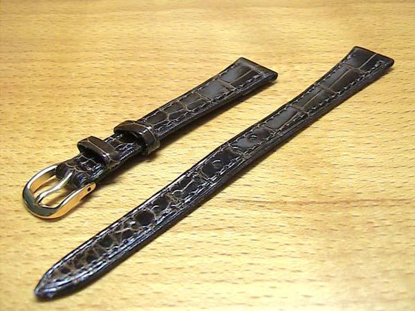 12mm時計バンド(腕時計)ベルト12ミリ クロコダイル (ワニ) 時計バンド 時計ベルト バネ棒 サービスつき 12mm チョコ 腕時計用 時計ベルト 時計用バンド 525円で販売していますバネ棒をサービスでお付けします。 全国送料180円のメール便がご利用いただけます。新品のバネ棒を2本サービスでお付けします。