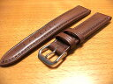 18mm時計バンド(腕時計)ベルト18ミリ 牛革 時計バンド 時計ベルト バネ棒 サービス 18mm チョコ 腕時計用 時計ベルト 時計用バンド 525円で販売していますバネ棒をサービスでお付けします。
