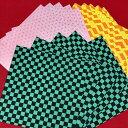 ショッピング鬼滅の刃 23巻 折り紙 大きい おりがみ 友禅和紙 【希サイズ 20×20cm15枚】折り紙 千代紙 友禅和紙 yuzen washi origami paper 計算折り紙 折り紙 柄 持ってるだけでも気持ちが豊かになれる 伝統的な図柄と絶妙な配色で作りあげた おりがみ