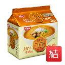 ショッピングラーメン 日清ラ王 袋麺 味噌 5食 日清食品 5食入 510g 18入数/箱