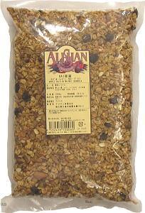 認證有機美國 QAI 食品而不用擔心放射性進口蘋果葡萄乾核桃燕麥 (燕麥) (商業) 1 公斤