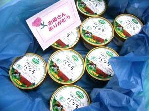 オーガニックアイスクリーム■お誕生日おめでとうギフト梱包【国内産・有機牛乳・有機卵】甘さ控えめ有機JAS安全無農薬アイスクリームバニラ8個セット