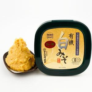 白味噌●蔵付き天然酵母みそ 有機JAS マルカワ味噌
