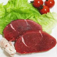 安全牛肉■興農ファーム低脂肪牛肉(ヤングブルビーフ)ヒレステーキ用100g×2(冷凍)を楽天で見る