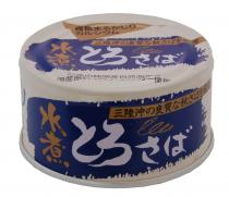 Toro 的國內生產和無添加劑的藍色的魚罐頭千葉新鮮鯖魚,煮水 180 克