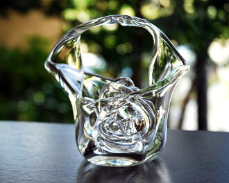 Glass vases flower dance artists 'kokihara 1'