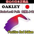 日本正規品 オークリー(OAKLEY)レーダー ロック パス レッド イリジウム 交換 レンズ RADAR LOCK PATH 41-768 VENTED 【交換レンズ】【レンズ単品】 Positive Red Iridium