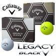 2015年 日本正規品キャロウェイ LEGACY BLACKレガシーブラックゴルフボール 1ダース(12球入)