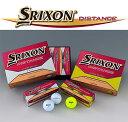 【楽天カード決済でポイント最大9倍】日本仕様 スリクソン SRIXON ディスタンス DISTANCE 2ピース ゴルフボール 1ダース(12個入)