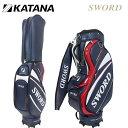 KATANA - 日本正規品 カタナ スウォード キャディバッグ 9型 SWC-28 【KATANA】【SWORD】【SWC28】【カタナゴルフ】